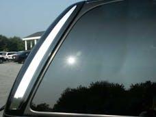 ESCALADE 2002-2006 CADILLAC 4-door, SUV (2 piece Stainless Steel   Rear Window Trim) RW42255 QAA