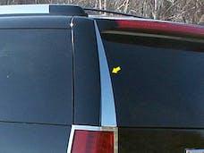ESCALADE 2007-2014 CADILLAC 4-door, SUV (2 piece Stainless Steel   Rear Window Trim) RW47255 QAA