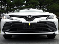 CAMRY 2018-2019 TOYOTA 4-door, L, LE, XLE, L HYBRID, LE HYBRID, XLE HYBRID (1 piece Stainless Steel   Front Grille Accent Trim) SG18130 QAA