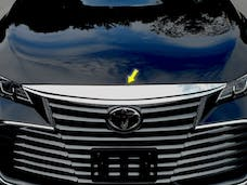 AVALON 2019-2019 TOYOTA 4-door (1 piece Stainless Steel   Front Grille Accent Trim) SG19165 QAA