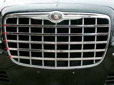 300 2005-2005 CHRYSLER 4-door, Limousine and Hearse fitment (5 piece Stainless Steel   Front Grille Accent Trim) SG45760 QAA