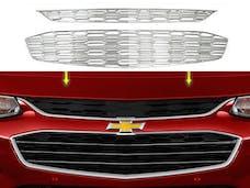 MALIBU 2016-2019 CHEVROLET 4-door (2 piece Chrome Plated ABS plastic Insert  Grill Overlay) SGC56105 QAA