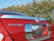 MAXIMA 2004-2006 NISSAN 4-door, SE (1 piece Stainless Steel 3.69