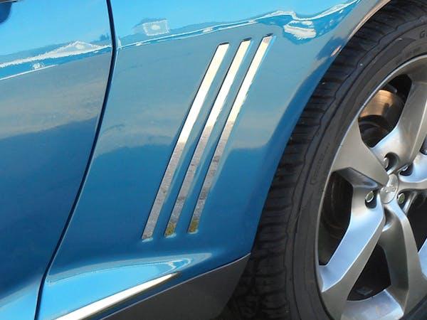 CAMARO 2010-2015 CHEVROLET 2-door (6 piece Stainless Steel
