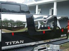TITAN 2004-2013 NISSAN 4-door (4 piece Stainless Steel 11.75