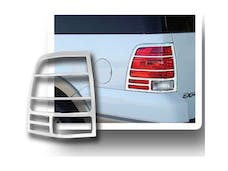 EXPEDITION 2003-2006 FORD 4-door, SUV (2 piece Chrome Plated ABS plastic   Tail Light Bezels) TL43387 QAA