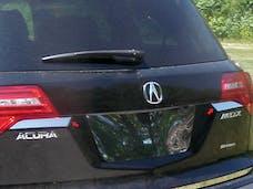 MDX 2007-2013 ACURA 4-door, SUV (2 piece Stainless Steel   Trunk Hatch Accent Trim) TP27297 QAA