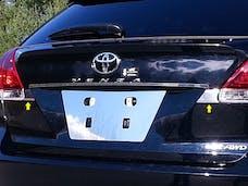 VENZA 2009-2015 TOYOTA 4-door (2 piece Stainless Steel   Trunk Hatch Accent Trim) TP29155 QAA