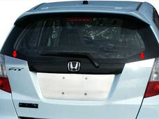 FIT 2009-2013 HONDA 4-door (2 piece Stainless Steel   Trunk Hatch Accent Trim) TP29220 QAA