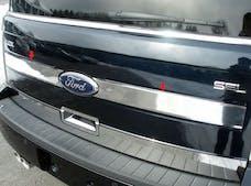 FLEX 2009-2012 FORD 4-door, SUV (2 piece Stainless Steel   Trunk Hatch Accent Trim) TP49340 QAA