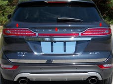MKC 2015-2019 LINCOLN 4-door (3 piece Stainless Steel   Tail Light Ring Accent Trim) TR55640 QAA