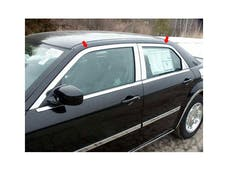 300 2005-2010 CHRYSLER 4-door, C-Model ONLY (4 piece Stainless Steel Includes Upper Trim only, NO Pillar Posts, NO window sills.  Window Trim Package) WP45767 QAA