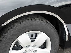 ALTIMA 2007-2012 NISSAN 4-door (4 piece Stainless Steel  With 3M adhesive installation and black rubber gasket edging. Wheel Well Accent Trim) WQ27550 QAA