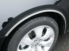 ACCORD 2008-2012 HONDA 4-door (4 piece Stainless Steel  With 3M adhesive installation and black rubber gasket edging. Wheel Well Accent Trim) WQ28281 QAA