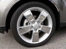 SOUL 2010-2013 KIA 4-door (40 piece Stainless Steel   Wheel Skin) WSK10830 QAA