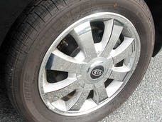 OPTIMA 2004-2005 KIA 4-door (32 piece Stainless Steel   Wheel Skin) WSK24805 QAA