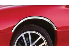 CAMARO 1993-2002 CHEVROLET 2-door (4 piece Molded Stainless Steel  Clip on or screw in installation, Lock Tab and screws, hardware included. Wheel Well Fender Trim Molding) WZ36100 QAA
