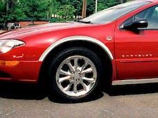 300M 1999-2004 CHRYSLER 4-door (4 piece Molded Stainless Steel 2