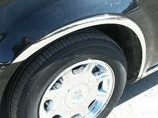 300 2005-2010 CHRYSLER 4-door, Base, C-Model, Limousine and Hearse fitment (4 piece Molded Stainless Steel With LP Clip on or screw in installation, Lock Tab and screws, hardware included. Wheel Well Fender Trim Molding) WZ45765 QAA
