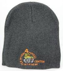 Clemson 4 Wheel Gray Beanie