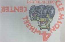 "Clemson Smal Logo Decal - 3""x5"""