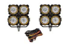 KC Hilites 280 KC Flex Quad LED Combo Beam System