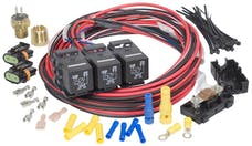 Painless 30117 Dual Activation/Dual Fan Relay Kit (on 185; off 175)