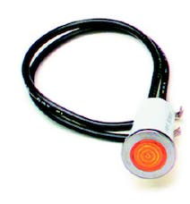 Painless 80208 1/2in. Dash Indicator Light/Amber