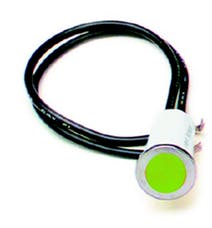Painless 80210 1/2in. Dash Indicator Light/Green