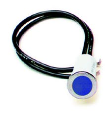 Painless 80211 1/2in. Dash Indicator Light/Blue