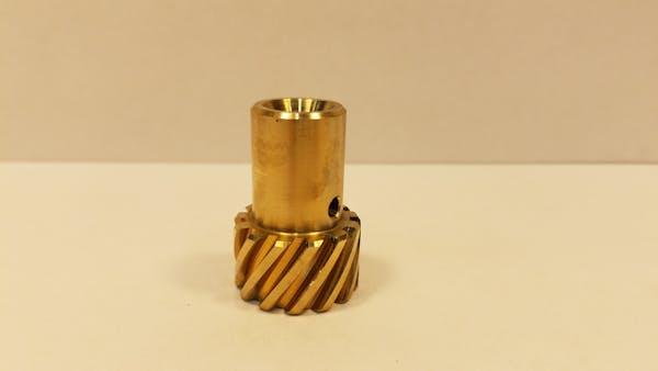 100-6383 Ampco 45 Bronze Distributor Gear, CHEVY V-8 .045