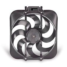 "Flex-A-Lite 168 Fan Electric 15"" Black Magic S-blade w/o controls"