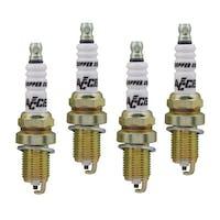 ACCEL 0414S-4 High Performance Shorty Spark Plug, 4pk