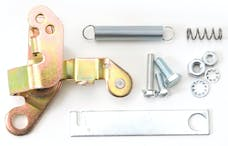 Edelbrock 1483 Ford Throttle Lever Adapter in Gold Finish for 1968 and Later