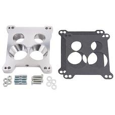 Edelbrock 2696 Carb Adapter for 4150 Square-Bore to Stock Quadrajet & Thermo-Quad Spread-Bore