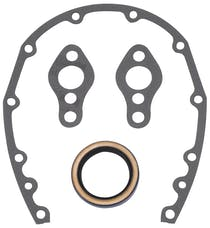 Edelbrock 6997 Timing Cover Gasket And Oil Seal Kit