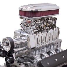Edelbrock 15111 Supercharger Dual Quad LS Rectangle Port Non-Intercooled without Carbs Polished