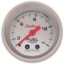 Edelbrock 73827 87 Nitrous System Fuel Pressure Gauge