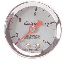 Edelbrock 73831 50 Nitrous System Fuel Pressure Gauge