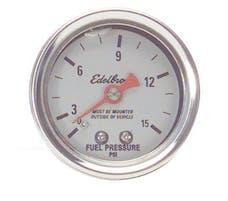 Edelbrock 73832 50 Nitrous System Fuel Pressure Gauge