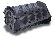 "Edelbrock 450001 Engine Block GM BBC Siamese 4.50"" Bore 9.80"" Deck Height Cast Iron 1Pc Rear Main"