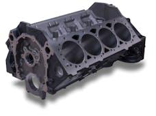 "Edelbrock 450021 Engine Block GM SBC Wet 4.00"" Bore 9.000"" Deck Height Cast Iron"