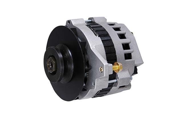 MSD 5320 Dynaforce Alternator, 120 Amp, Natural Strt-Mnt