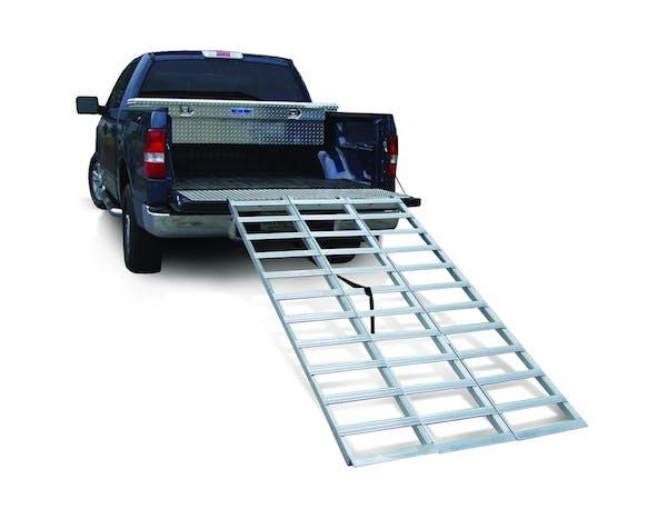 Better Built 25710046 Aluminum Extended Tri-fold Loading Ramp (1500lb)-184 FR