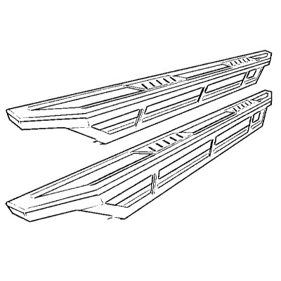 Rock Rails and Sliders