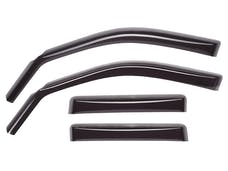 WeatherTech 84450 Front&Rear Side Window Deflectors, Dark Smoke