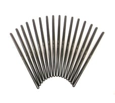 "Brian Tooley Racing LS CHROMOLY PUSHRODS .080"" WALL , 5/16"" DIAMETER, 7.375"" SET OF 16"