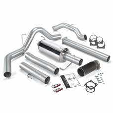 Banks Power 48640-B Monster Exhaust System; S/S-Black Tip-03-04 Dodge 5.9 Sclb/Ccsb; Cat