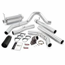 Banks Power 48654-B Monster Exhaust W/Power Elbow; S/S-Black Tip-2000-03 Ford 7.3L Excursion