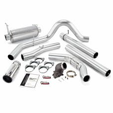 Banks Power 48654 Monster Exhaust W/Power Elbow; S/S-Chrome Tip-2000-03 Ford 7.3L; Excursion